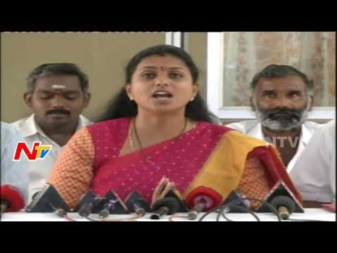 """Three CHEATERS"": Pawan Kalyan, Chandrababu, Modi Says MLA Roja"