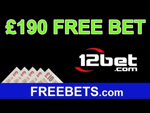 How To Get £190 Free Bets On 12BET