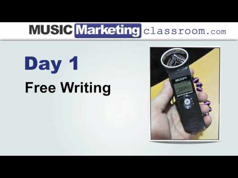 Music Marketing Challenge Day 2 – The Songwriting System