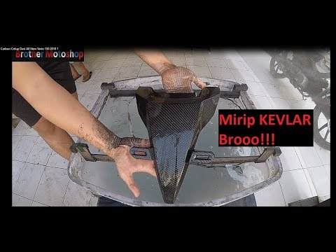 Water Printing / Carbon Celup Dasi All New Vario 150 2018 (Mirip Kevlar)