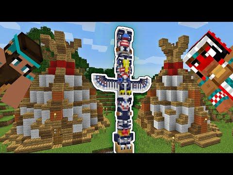 KIZILDERİLİLER KÖYÜ ? ( LABİRENTLER ) | Minecraft Kale MOD #16