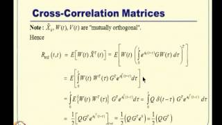 Mod-12 Lec-28 Kalman Filter Design -- I