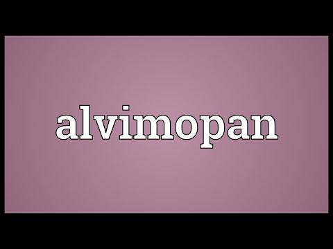 Alvimopan Meaning