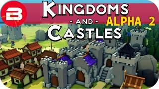 Kingdoms and Castles Gameplay: IMPENETRABLE!! #6 - Lets Play Kingdoms & Castle Alpha City Building