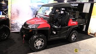 8. 2017 HiSun Strike 250 Side by Side ATV - Walkaround - 2016 SEMA Las Vegas