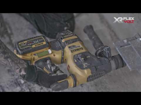 Martelli SDS Max/Plus 54V XR FLEXVOLT DEWALT