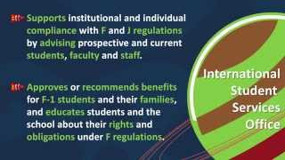 Introduction to the UT Dallas International Center