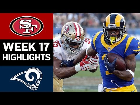 49ers vs. Rams | NFL Week 17 Game Highlights (видео)