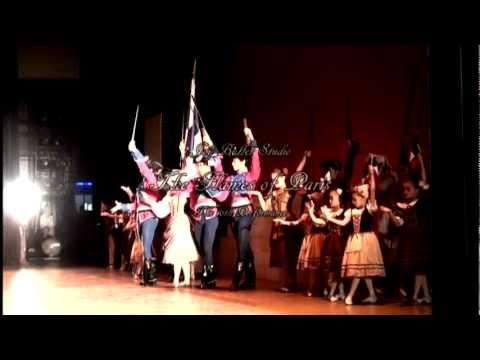 ジョイ・バレエストゥーディオ『パリの炎』全3幕 日本初演