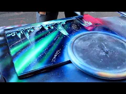The plates are out of this world by pesh2000 meme center for Spray paint art tutorial beginner