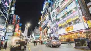 Fast-travel @ Neon City [Busan, Time-Lapse]