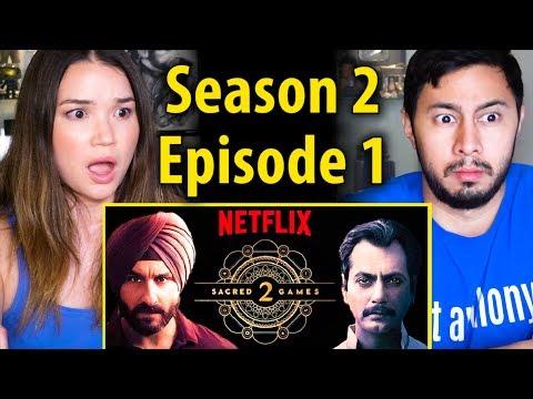 SACRED GAMES | Season 2 Episode 1 | Saif Ali Khan | Nawazuddin Siddiqui | Reaction!
