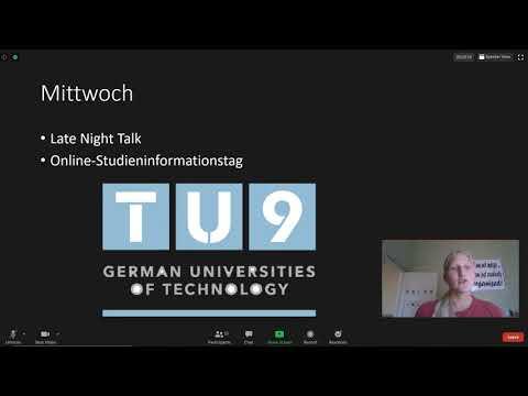 TU9-ING-Woche: DHPS-Abiturientin Tanja Reiff berichtet - Report by Gr.12 learner Tanja Reiff