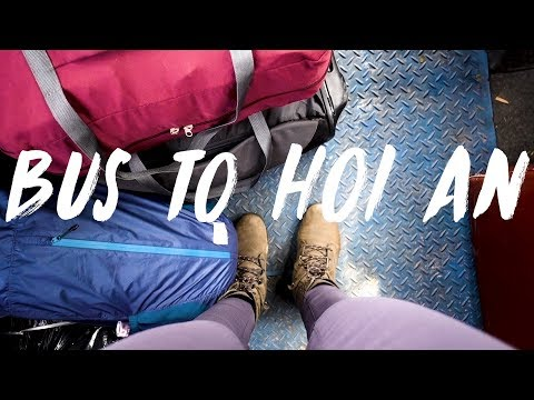 DA NANG TO HOI AN ON THE LOCAL BUS | TRAVEL VLOG