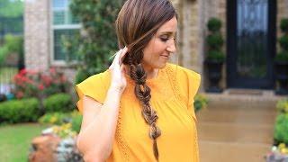 Double Bubble Fishtail Braid | Cute Girls Hairstyles by Cute Girls Hairstyles