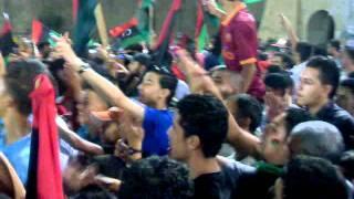 شباب فشلوم وبن عاشور في ميدان الشهداء 30 أغسطس.mp4