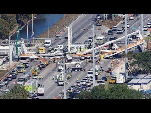 Φλόριδα: Τέσσερις νεκροί από την κατάρρευση νέας πεζογέφυρας