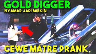 Video PRANK CEWE MATRE Settingan! 🤣 ENJOY! Miskin Setia kah dia? SAVAGE! (Gold Digger Prank Indonesia) MP3, 3GP, MP4, WEBM, AVI, FLV Februari 2019
