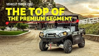 6. Kawasaki MULE PRO-FXR 2018 Goes Official with Specs Interior and Exterior