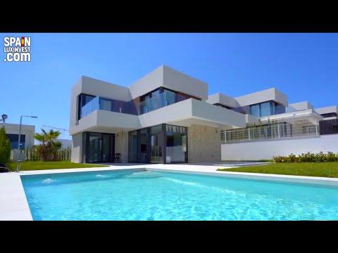 Новые дома в Испании/Дом в Бенидорме/Вилла в Сьерра Кортине/Недвижимость в Испании 2020/Хайтек/Люкс
