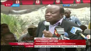 News Center: Makonde Community finally get recognized with National Identification cards, 25/10/16