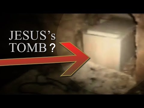 Archaeologists finally OPEN the JESUS' TOMB! ʿĪsā  Yeshua  يسوع