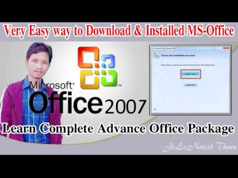 How to download and install MS office 2007 100% Full version