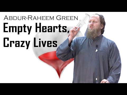 Empty Hearts, Crazy Lives - Abdur-Raheem Green