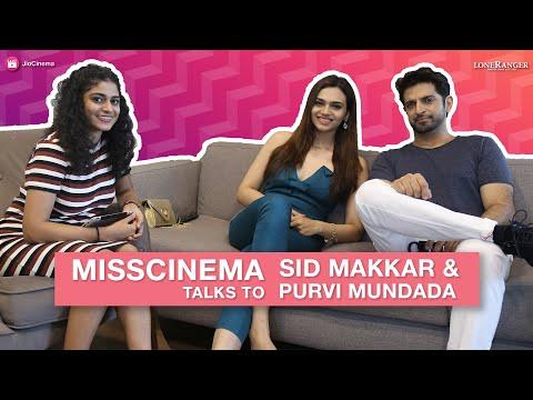 MissCinema   Interview with Sid Makkar & Purvi Mundada   Faceless   JioCinema