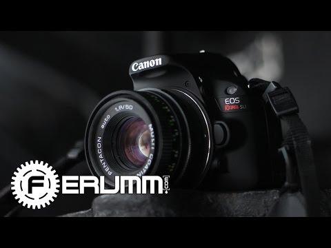 Canon EOS 100D Видеообзор. Подробный обзор фотоаппарата Canon EOS 100D от FERUMM.COM (видео)