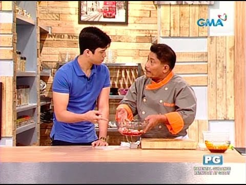 Kusina Master: Chef Boy teaches Elmo how to make tocino