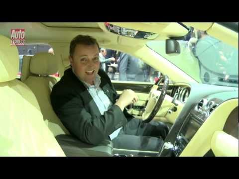 Bentley Flying Spur at the 2013 Geneva Motor Show - Auto Express