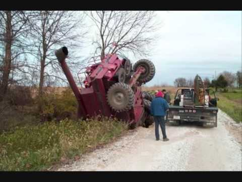 stuck and forgotten tractors