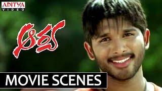 Aarya comedy scenes allu arjun love letter comedy - 3 3