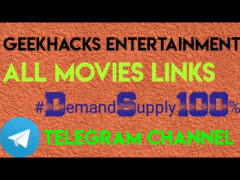 How to download any movies and web series instantly free |DemandSupply100%| GeekHacks Entertainment