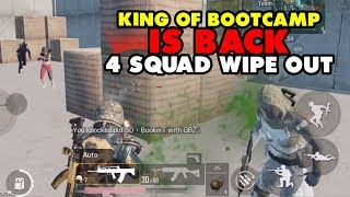 Video KING OF BOOTCAMP IS BACK ?! 4 SQUADS WIPEOUT AT BOOTCAMP !!! - PUBG MOBILE INDONESIA MP3, 3GP, MP4, WEBM, AVI, FLV September 2019