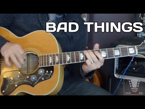 Bad Things by Jace Everett – Guitar Lesson with Erich Andreas
