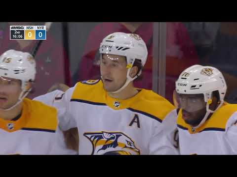 Video: Nashville Predators vs New York Rangers | NHL | OCT-04-2018 | 19:00 EST