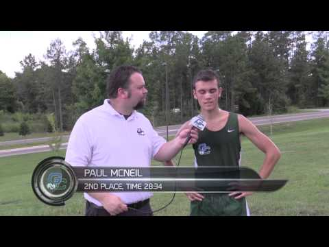 GC Men's Cross Country vs. Armstrong Sept. 5