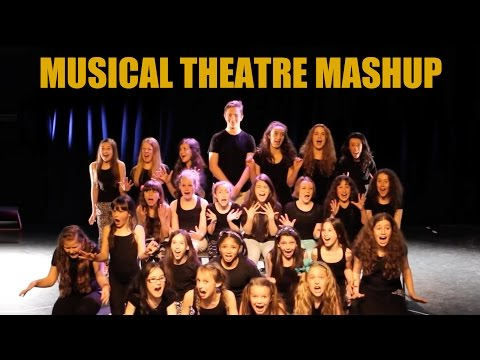 musicals - Performers aged 7-15 pay tribute to some of the best musicals through the decades in this medley. http://www.spiritypc.co.uk . If you love musical theatre, p...