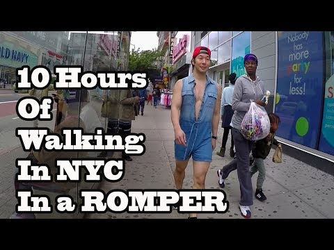 10 Hours of Walking in NYC wearing a Romper