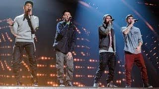 The Mend - Britain's Got Talent 2012 Live Semi Final - UK version