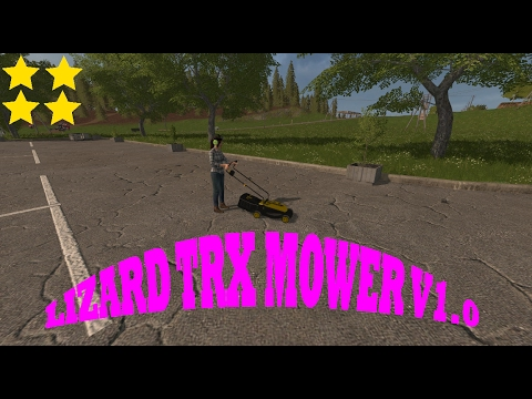 Lizard TRX Mower v1.0