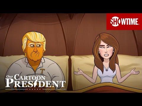 'Cartoon Melania's Emotive Eyes' Ep. 6 Official Clip | Our Cartoon President | SHOWTIME
