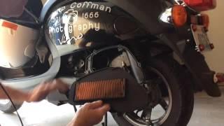 8. 2006 Yamaha Vino moped with 7001 miles Air filter check