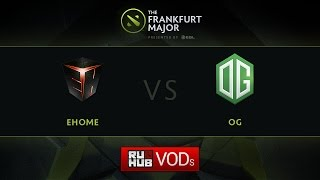 OG vs EHOME, game 1