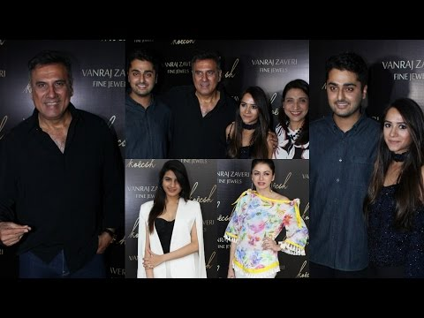 The Launch Of koech Bridge & Vanraj Zaveri Fine Jewels With Boman Irani