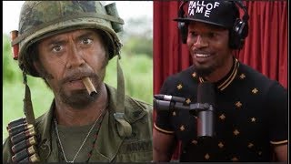 Video Jamie Foxx on Robert Downey Jr. Doing Blackface - Joe Rogan MP3, 3GP, MP4, WEBM, AVI, FLV Agustus 2018