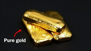 Video Turning old jewelry into pure gold bars MP3, 3GP, MP4, WEBM, AVI, FLV September 2019
