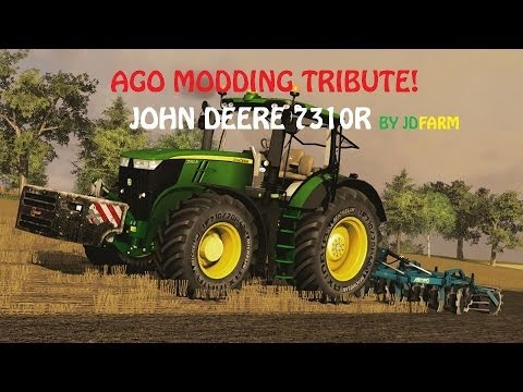 Farming Simulator 2013 AGO MODDING TRIBUTE !!! JOHN DEERE  7310R
